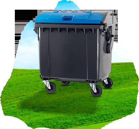 Contentor de Lixo e Lixeira