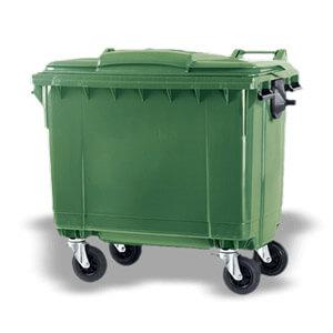 Contentor de Lixo de 660 Litros